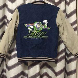 Disney Buzz Lightyear Denim/canvas bomber Y 10-12